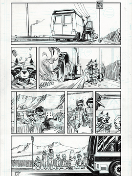 Rocket Raccoon #5 (Page 5)