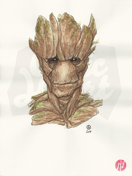 Groot Watercolor