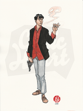 Dylan Dog Watercolor