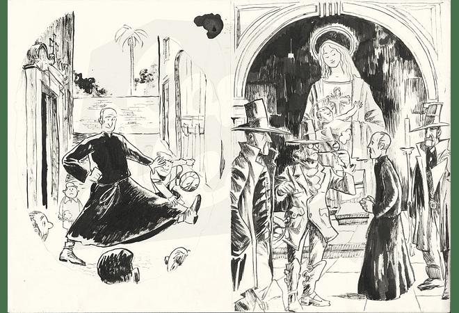 A Ermida Illustrations