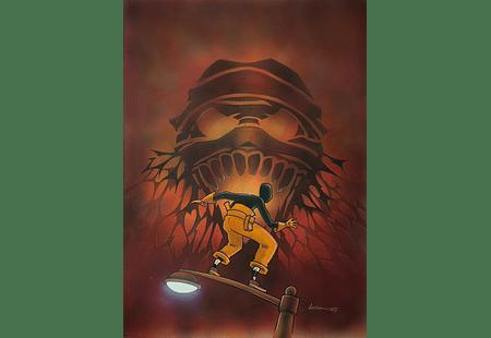 O Corvo-Laços de Família, Unused cover