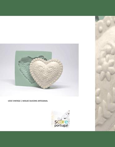 LOVE VINTAGE | MOLDE SILICONE ARTESANAL