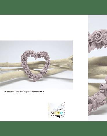 ARO FLORAL LOVE  20TAGE | GESSO PERFUMADO
