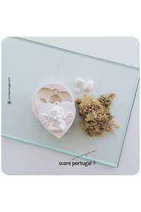 LOVE ANGELICAL | MOLDE SILICONE ARTESANAL