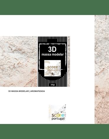 3D MASSA MODELAR | AROMATIZADA