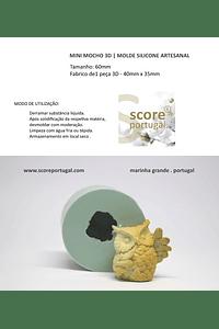 MINI MOCHO 3D | MOLDE SILICONE ARTESANAL