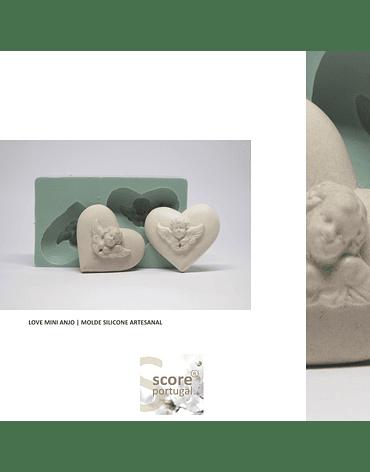 LOVE MINI ANJO | MOLDE SILICONE ARTESANAL