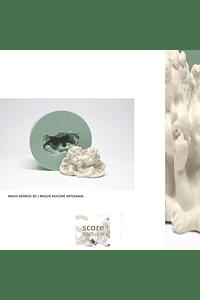 ANJOS GÉMEOS 3D | MOLDE SILICONE ARTESANAL