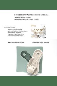 CHINELO DE CONCHA | MOLDE SILICONE ARTESANAL
