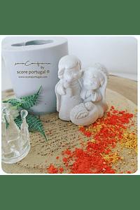 PRESÉPIO 3D INFANTIL molde silicone artesanal
