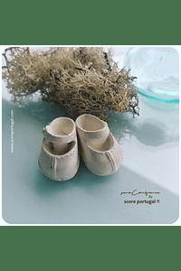 SAPATINHO BABY | MOLDE SILICONE ARTESANAL