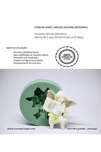 LIVRO DE ANJO | MOLDE SILICONE ARTESANAL