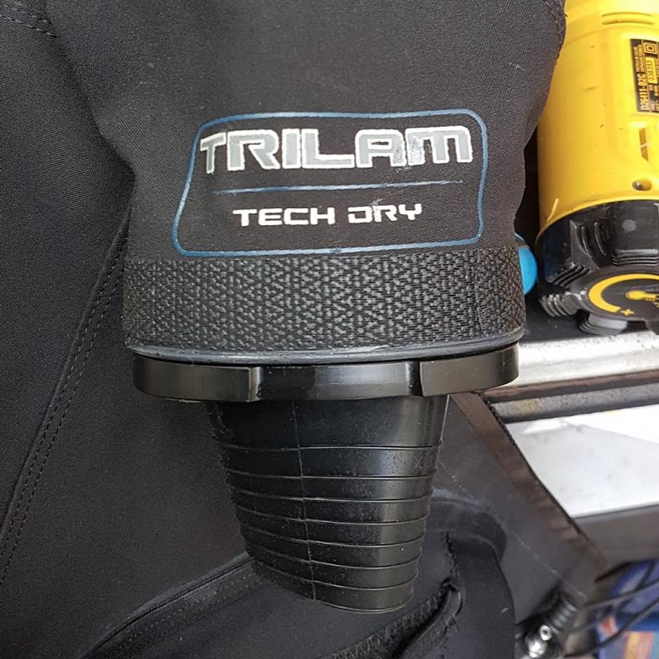 Instalación sistema puño intercambiable Si-Tech Oval QCS