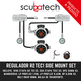 REGULADOR TECLINE R2 TEC1 SIDE MOUNT SET