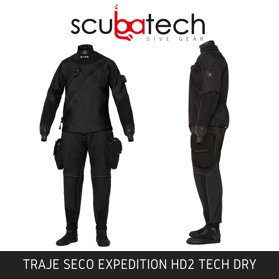 Traje Seco BARE EXPEDITION HD2 TECH DRY