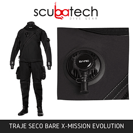 Traje Seco BARE X-MISSION EVOLUTION