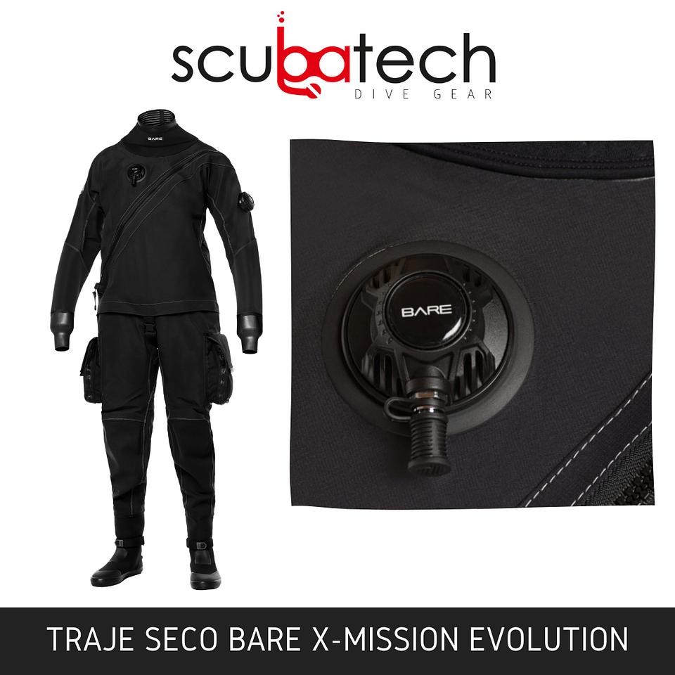 Traje Seco BARE X-MISSION EVOLUTION