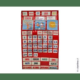 Calendario Chileno Con Efemérides