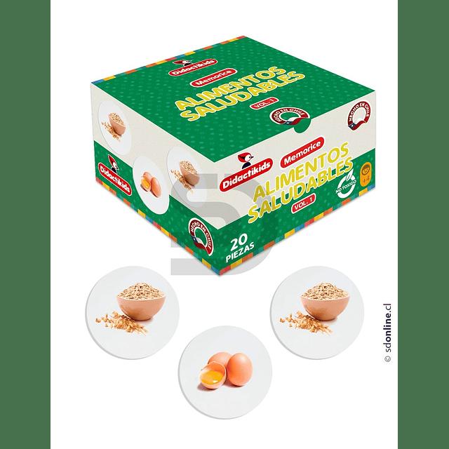 Memorice De Alimentos Saludables