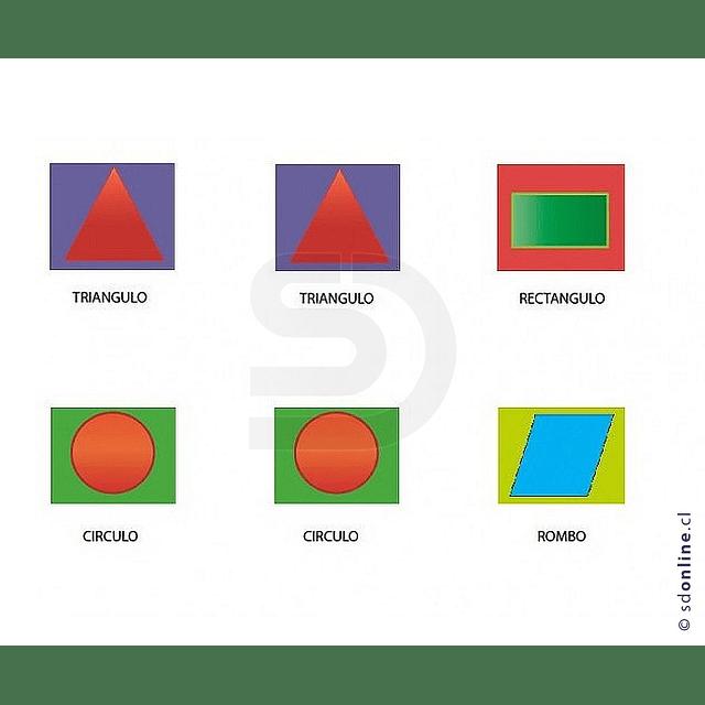 Memorice De Figuras Geometricas