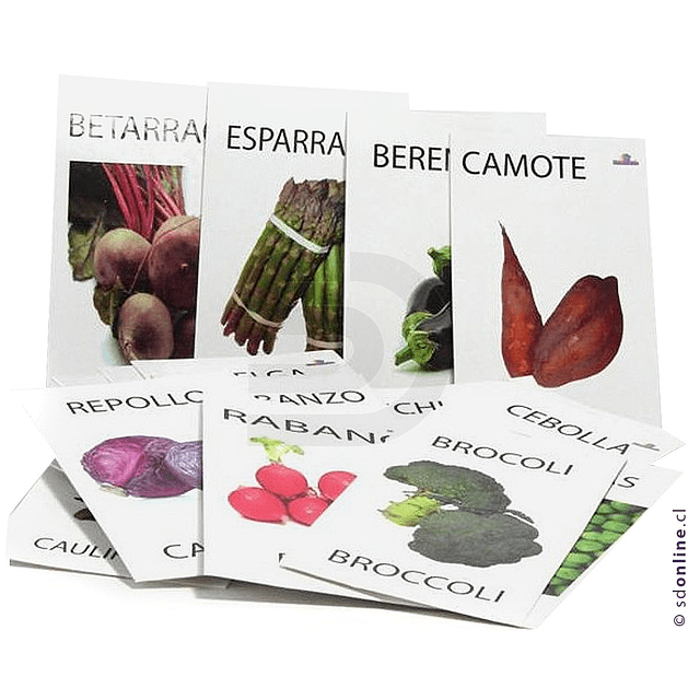 Naipe De Verduras