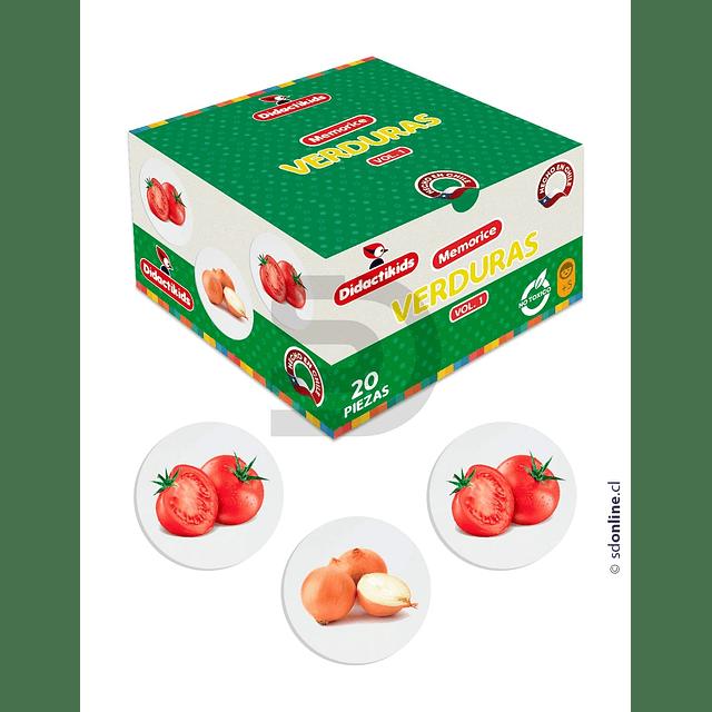 Memorice De Verduras
