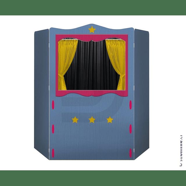 Teatro De Títeres Plegable