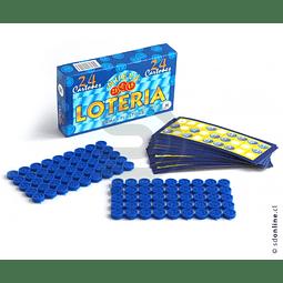 Lotería 24 Cartones Ficha Plástica
