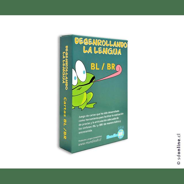 Naipe Cartas Desenrollando La Lengua Bl/Br