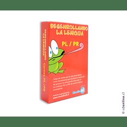 Naipe Cartas Desenrollando La Lengua Pl/Pr