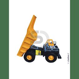 Camion Tolva Plástico Gigante Chuqui 60X30Cm