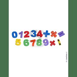 Números Magneticos 56Pza