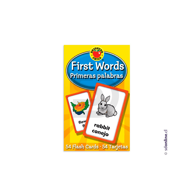 Naipe Primeras Palabras 54 Und