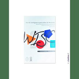 Libro Test De Inteligencia De Wechsler