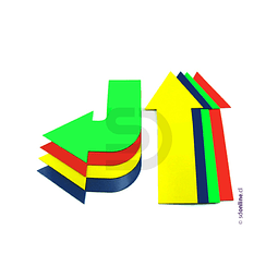 Flechas Colores 8Pza