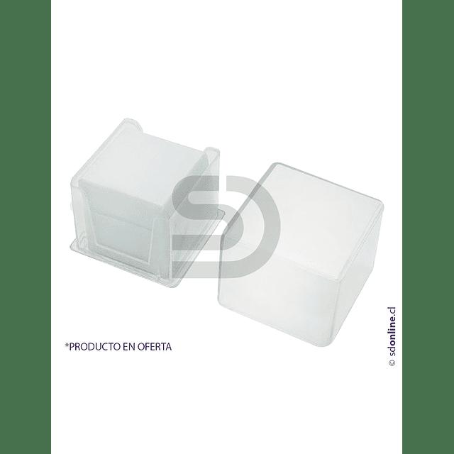 Cubre Objeto Caja Plástica 20X20Mm 100Und