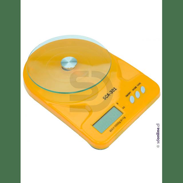 Balanza Digital Laboratorio Escolar 5Kg 1Gr
