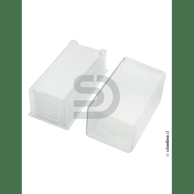 Cubre Objeto Caja Plástica 24X50Mm 100Und
