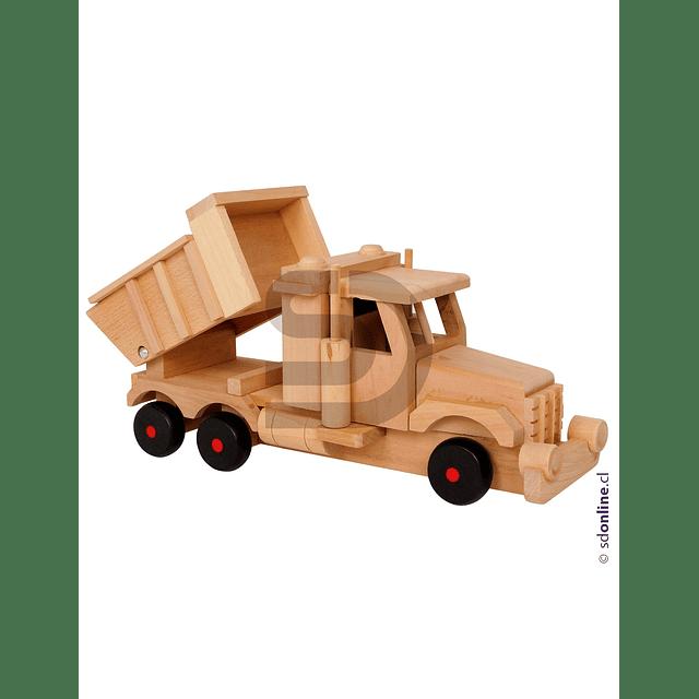 Camion Tolva De Madera