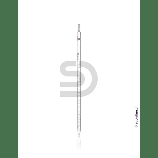 Pipeta Vidrio Graduada De 2Ml 1 A 10