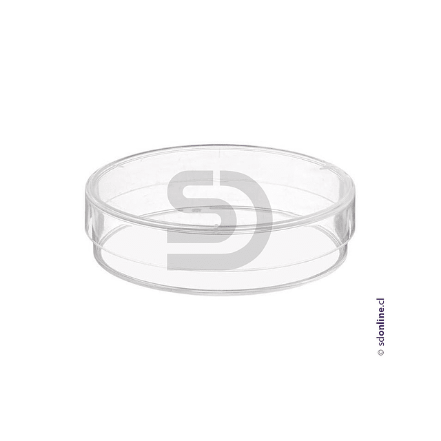 Placa Petri Plástica 60X15Mm