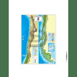 Mapa De Chile Politico Administrativo Escala 1:2.200.000