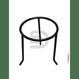 Tripode Metal Pintado Cromado Para Mechero