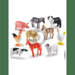 Animales De La Granja Para Contar 60Pza