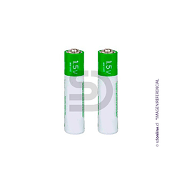 Set 2 Bateria Recargable Aaa 1,5Vol 1600Mah