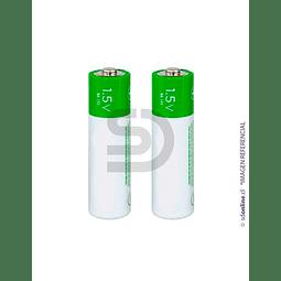 Set 2 Bateria Recargable Aa 1,5Vol 3800Mah
