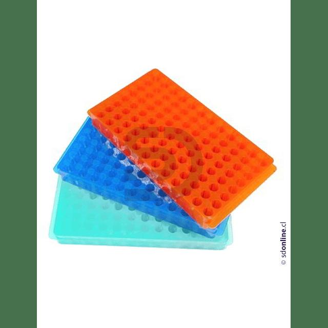 Gradilla Polipropileno Microtubos De 1.5 Y 0.5 Ml 96 Posiciones