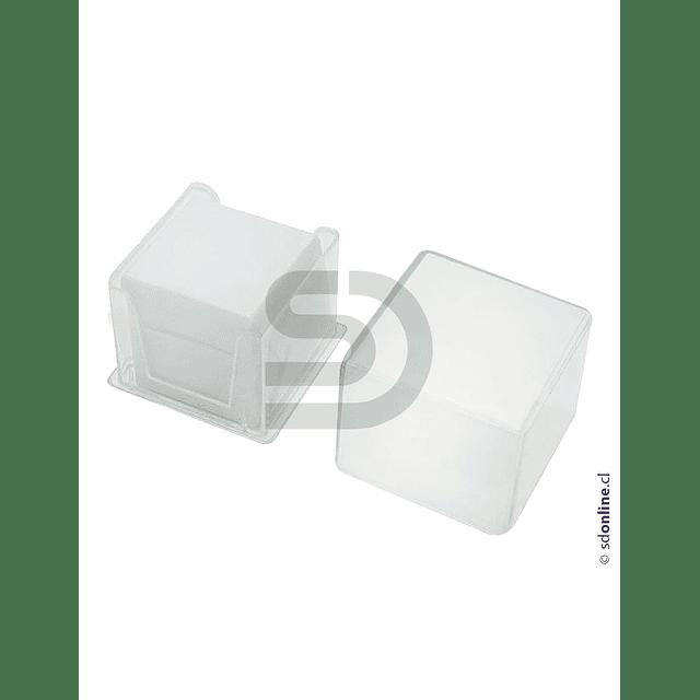 Cubre Objeto Caja Plástica 22X22Mm 100Und