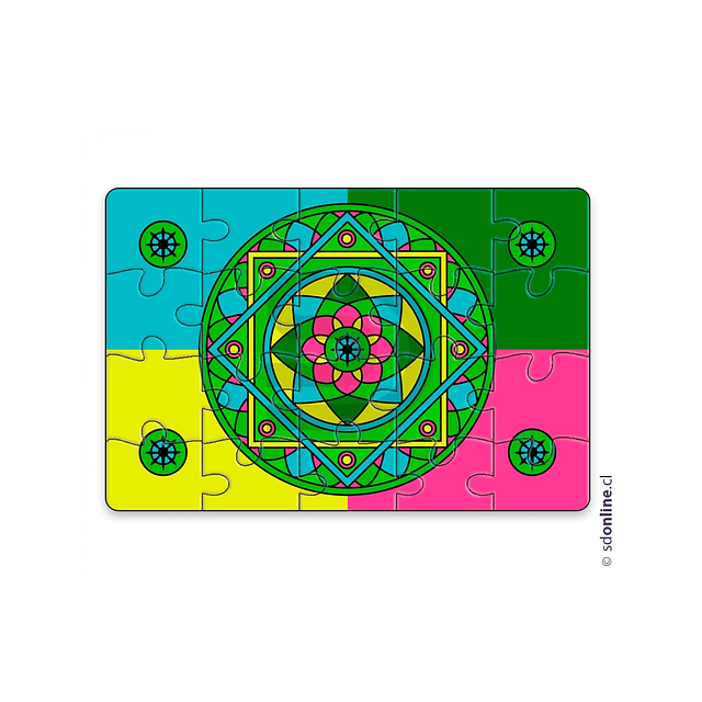 Puzzle Mandala Vol 1