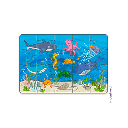 Puzzle Animales Acuaticos